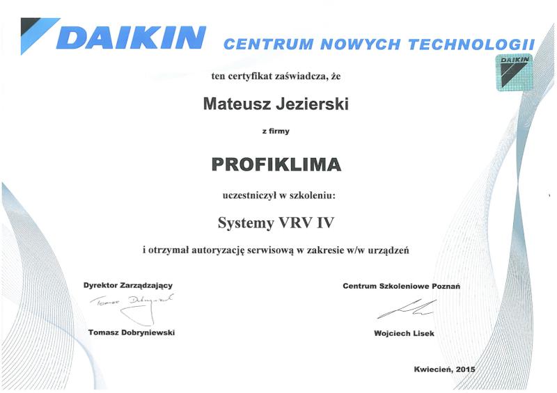 Autoryzowany dystrybutor klimatyzacji Daikin