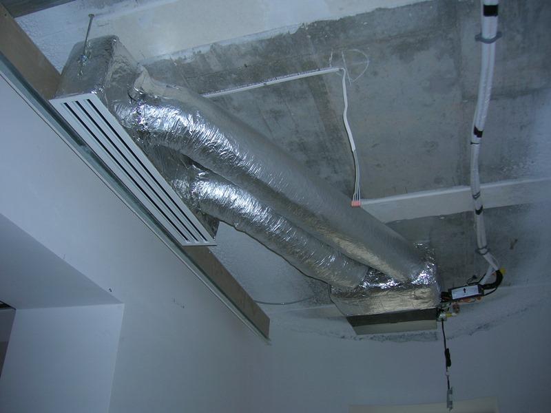Klimatyzacja bo biura zabudowana