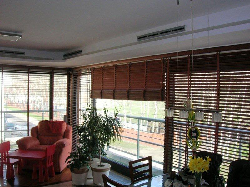Klimatyzacja kanałowa w mieszkaniu