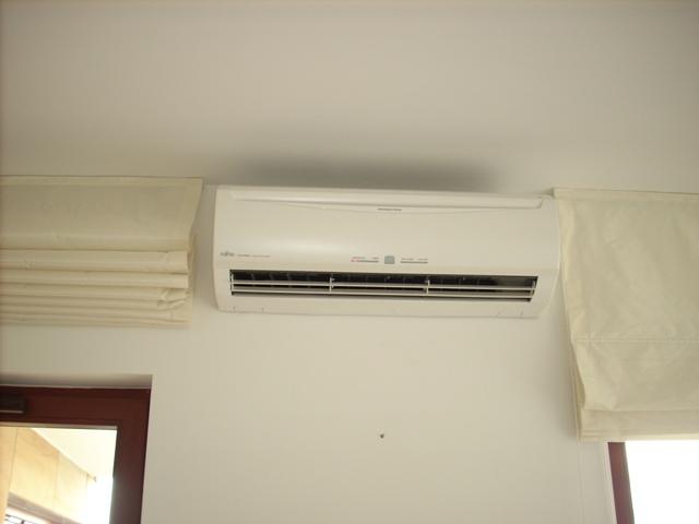 Klimatyzacja naścienna Fujitsu w mieszkaniu