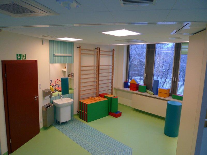 Klimatyzacja sali rehabilitacyjnej