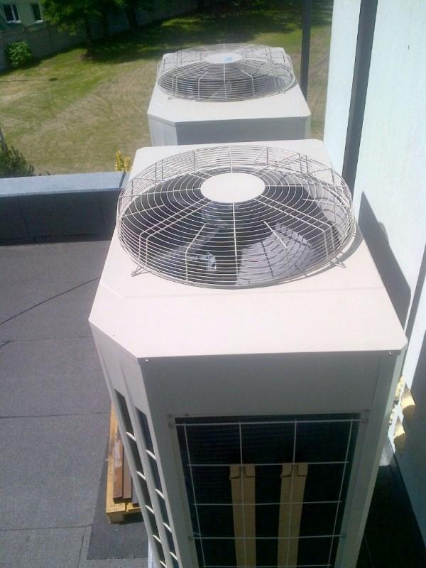 Klimatyzacja VRF Fujitsu w hotelu Boss