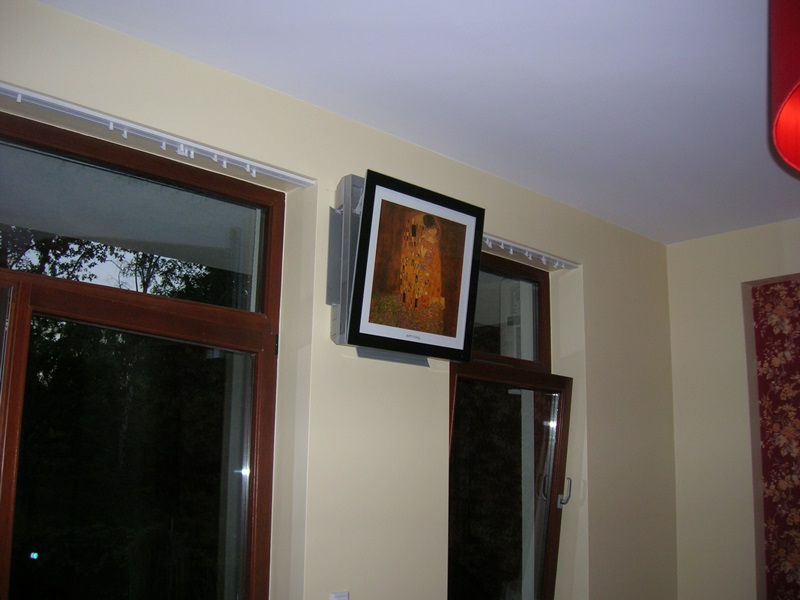 Klimatyzator Artcool Galeria G09PK w pokoju
