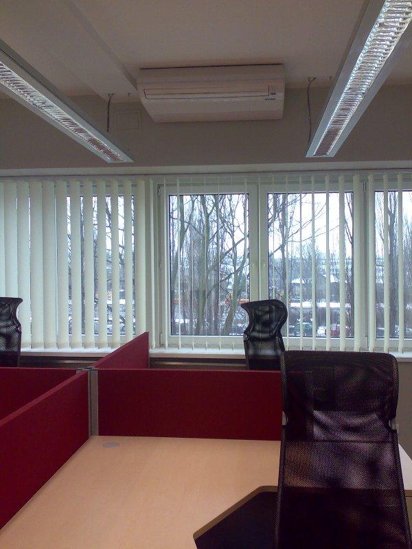 Klimatyzator do biura przysufitowy