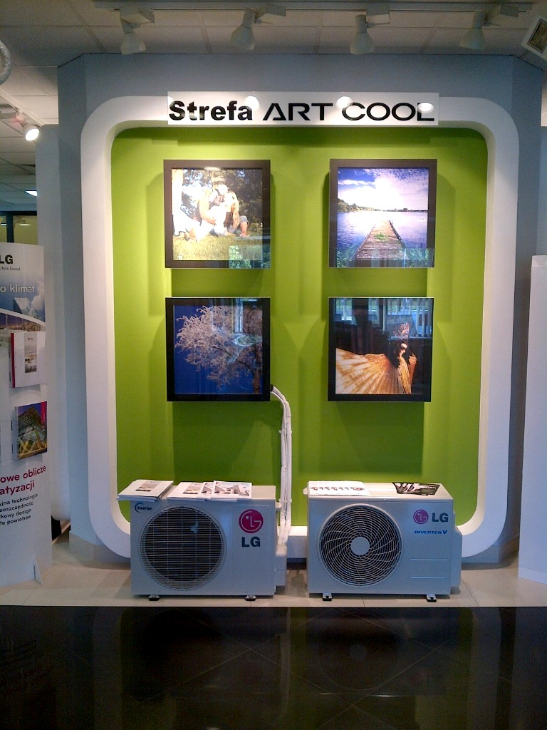 Klimatyzator LG Artcool Galeria G12PK