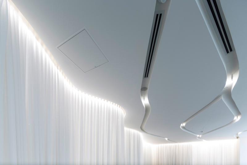 Montaż klimatyzacji kanałowej w biurze TZG VirginLounge Melbourne