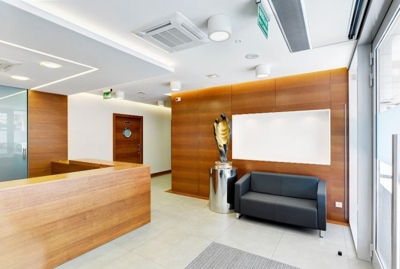 Montaż klimatyzacji w biurze Bemicus Warszawa